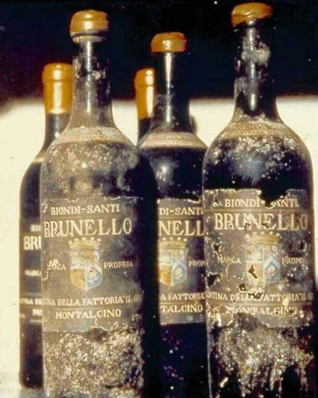 意大利老红酒